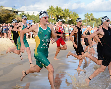 Jack Hickey - Swim Leg - 2016 Noosa Triathlon, Noosa Heads, Sunshine Coast, Queensland, Australia; 30 October. Camera 2. Photos by Des Thureson - disci.smugmug.com
