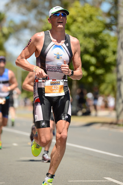 Iain ADDINELL - Run Leg - 2016 Noosa Triathlon, Noosa Heads, Sunshine Coast, Queensland, Australia; 30 October. Camera 2. Photos by Des Thureson - disci.smugmug.com