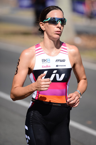 Radka VODICKOVA - Run Leg - 2016 Noosa Triathlon, Noosa Heads, Sunshine Coast, Queensland, Australia; 30 October. Camera 2. Photos by Des Thureson - disci.smugmug.com