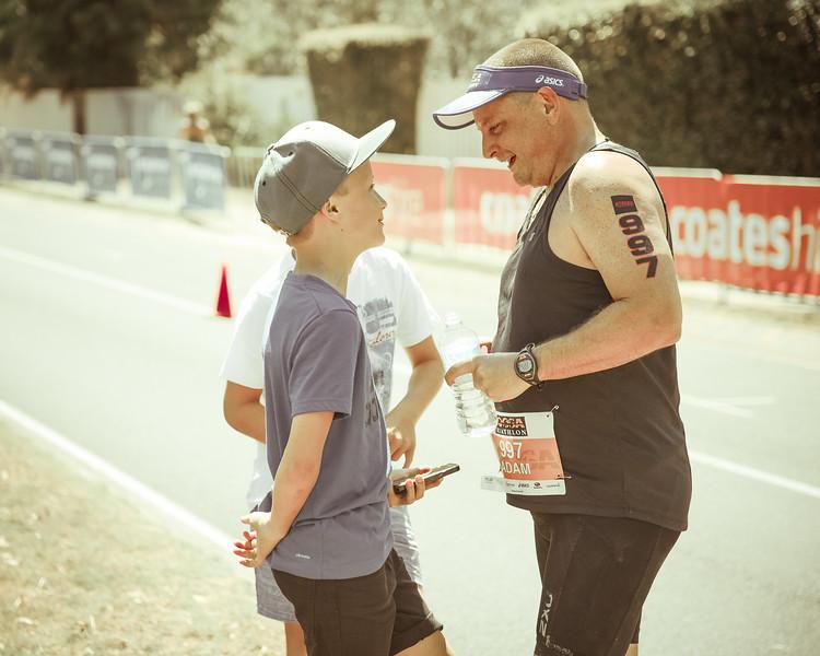 "Alternate Processing  - ""yoshkiWarmGold"" - Run Leg - 2016 Noosa Triathlon, Noosa Heads, Sunshine Coast, Queensland, Australia; 30 October. Camera 2. Photos by Des Thureson - disci.smugmug.com"