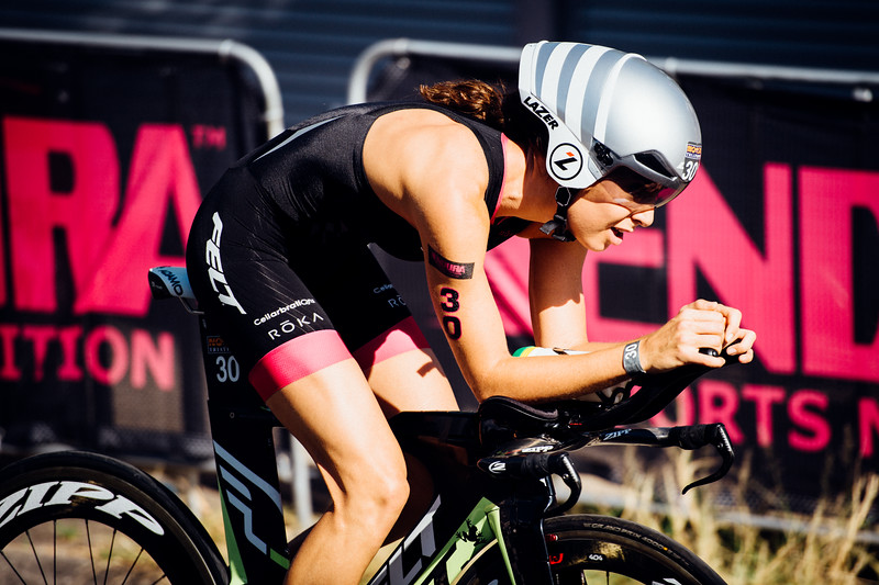 "VSCO Film Preset: ""N - Kodak Gold 100 Contrast +"" - Ashleigh Gentle - Bike Leg - 2016 Noosa Triathlon, Noosa Heads, Sunshine Coast, Queensland, Australia; 30 October. Camera 2. Photos by Des Thureson - disci.smugmug.com"