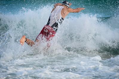 John RASMUSSEN - Swim Leg - 2016 Noosa Triathlon, Noosa Heads, Sunshine Coast, Queensland, Australia; 30 October. Camera 2. Photos by Des Thureson - disci.smugmug.com