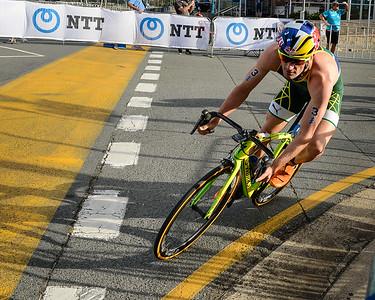 Richard Murray - 2017 Gold Coast ITU Men's WTS World Triathlon, Saturday 8 April 2017; Queensland, Australia. Camera 1. Photos by Des Thureson - http://disci.smugmug.com.