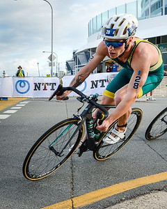Mathew Baker - 2017 Gold Coast ITU Men's WTS World Triathlon, Saturday 8 April 2017; Queensland, Australia. Camera 1. Photos by Des Thureson - http://disci.smugmug.com.