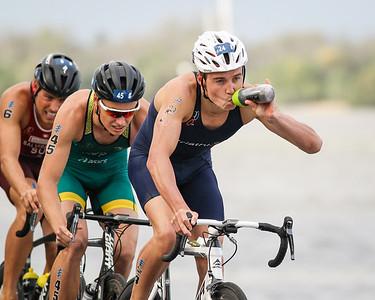 Wian Sullwald - 2017 Gold Coast ITU Men's WTS World Triathlon, Saturday 8 April 2017; Queensland, Australia. Camera 2. Photos by Des Thureson - http://disci.smugmug.com.