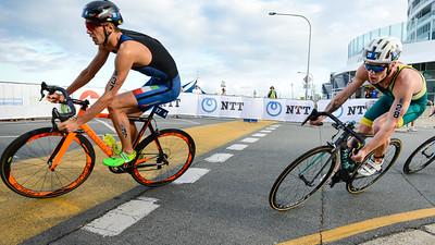 Mathew Baker - 2017 Gold Coast ITU Men's WTS World Triathlon, Saturday 8 April 2017; Queensland, Australia. Camera 1. Photos by Des Thureson - http://disci.smugmug.com.