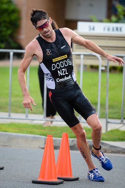 "Tony Dodds - 2017 Gold Coast ITU Men's WTS World Triathlon, Saturday 8 April 2017; Queensland, Australia. Camera 1. Photos by Des Thureson - <a href=""http://disci.smugmug.com"">http://disci.smugmug.com</a>."