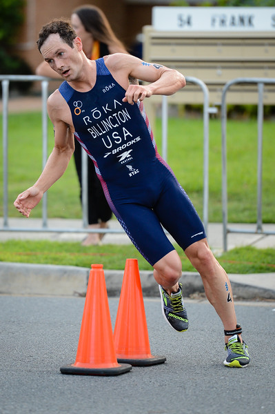 "Gregory Billington - 2017 Gold Coast ITU Men's WTS World Triathlon, Saturday 8 April 2017; Queensland, Australia. Camera 1. Photos by Des Thureson - <a href=""http://disci.smugmug.com"">http://disci.smugmug.com</a>."