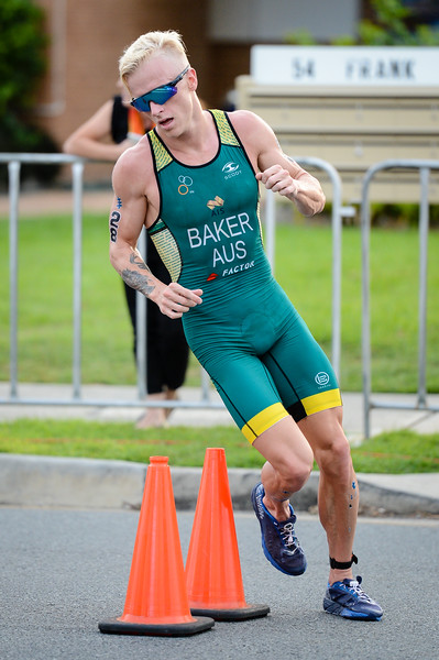 "Matthew Baker - 2017 Gold Coast ITU Men's WTS World Triathlon, Saturday 8 April 2017; Queensland, Australia. Camera 1. Photos by Des Thureson - <a href=""http://disci.smugmug.com"">http://disci.smugmug.com</a>."