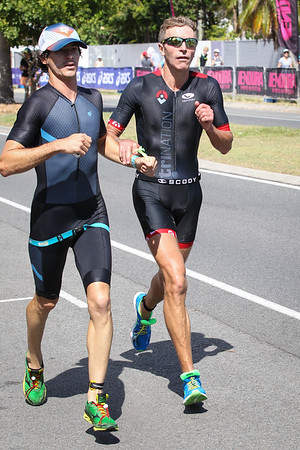 Run Leg, Run Leg of the 2017 Noosa Triathlon