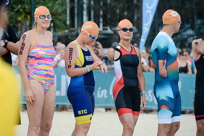 Start, Elite Triathletes with Disabilities