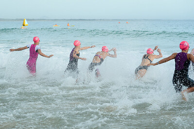 Splash, Elite Women's Race Start