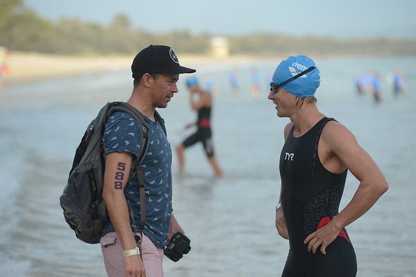 2017 Noosa Triathlon, Noosa Heads, Sunshine Coast, Queensland, Australia; 5 November. Camera 1. Photos by Des Thureson - disci.smugmug.com