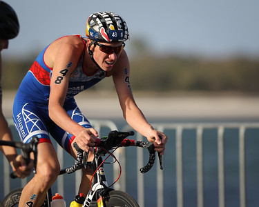 Dmitry Polyanskiy - 2018 Gold Coast World Triathlon Men's WTS Grand Final, Sunday 16 September 2018; Queensland, Australia. Camera 2. Photos by Des Thureson - http://disci.smugmug.com.