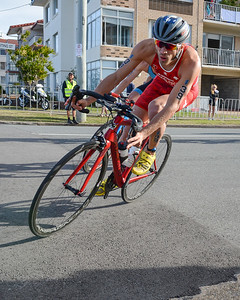 Sylvain Fridelance - Bike Leg - 2018 Gold Coast World Triathlon Men's WTS Grand Final, Sunday 16 September 2018; Queensland, Australia. Camera 1. Photos by Des Thureson - http://disci.smugmug.com.