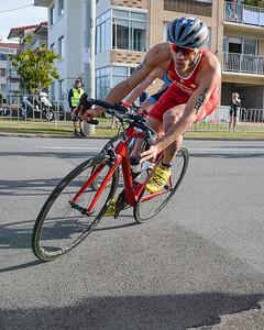 Sylvain Fridelance - Bike Leg - 2018 Gold Coast World Triathlon Men's WTS Grand Final, Sunday 16 September 2018; Queensland, Australia. Camera 1. Photos by Des Thureson - http://disci.smugmug.com.