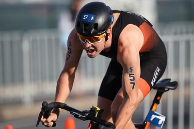 Jorik Van Egdom - 2018 Gold Coast World Triathlon Men's WTS Grand Final, Sunday 16 September 2018; Queensland, Australia. Camera 2. Photos by Des Thureson - http://disci.smugmug.com.