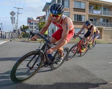 Alois Knabl - Bike Leg - 2018 Gold Coast World Triathlon Men's WTS Grand Final, Sunday 16 September 2018; Queensland, Australia. Camera 1. Photos by Des Thureson - http://disci.smugmug.com.