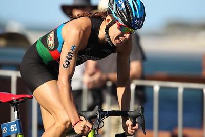 Kseniia LEVKOVSKA - 2018 Gold Coast World Triathlon Women's WTS Grand Final, Saturday 15 September 2018; Queensland, Australia. Camera 2. Photos by Des Thureson - http://disci.smugmug.com.