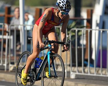 Anna GODOY CONTRERAS - 2018 Gold Coast World Triathlon Women's WTS Grand Final, Saturday 15 September 2018; Queensland, Australia. Camera 2. Photos by Des Thureson - http://disci.smugmug.com.