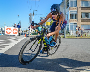 Summer Cook - 2018 Gold Coast World Triathlon Women's WTS Grand Final, Saturday 15 September 2018; Queensland, Australia. Camera 1. Photos by Des Thureson - http://disci.smugmug.com.