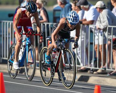 Ai Ueda - 2018 Gold Coast World Triathlon Women's WTS Grand Final, Saturday 15 September 2018; Queensland, Australia. Camera 2. Photos by Des Thureson - http://disci.smugmug.com.