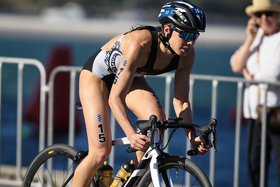 Andrea Hewitt - 2018 Gold Coast World Triathlon Women's WTS Grand Final, Saturday 15 September 2018; Queensland, Australia. Camera 2. Photos by Des Thureson - http://disci.smugmug.com.