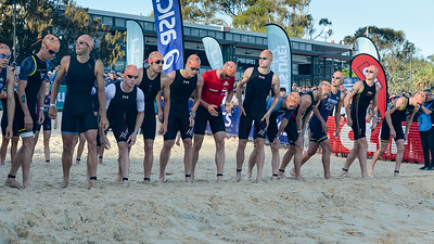 Ready Set - 2018 Noosa Triathlon, Noosa Heads, Sunshine Coast, Queensland, Australia; 4 November. Camera 1. Photos by Des Thureson - disci.smugmug.com