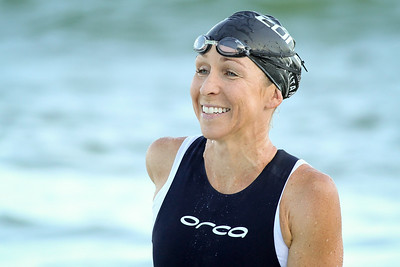 Liz Blatchford - 2018 Noosa Triathlon, Noosa Heads, Sunshine Coast, Queensland, Australia; 4 November. Camera 2. Photos by Des Thureson - disci.smugmug.com