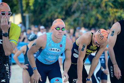 Jake Hynes - 2018 Noosa Triathlon, Noosa Heads, Sunshine Coast, Queensland, Australia; 4 November. Camera 1. Photos by Des Thureson - disci.smugmug.com