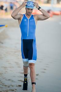 Elite Paratriathlete - 2018 Noosa Triathlon, Noosa Heads, Sunshine Coast, Queensland, Australia; 4 November. Camera 1. Photos by Des Thureson - disci.smugmug.com