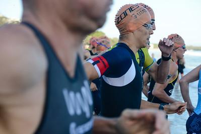 Travis Coleman - 2018 Noosa Triathlon, Noosa Heads, Sunshine Coast, Queensland, Australia; 4 November. Camera 1. Photos by Des Thureson - disci.smugmug.com
