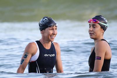 Liz Blatchford, Ashleigh Gentle - 2018 Noosa Triathlon, Noosa Heads, Sunshine Coast, Queensland, Australia; 4 November. Camera 2. Photos by Des Thureson - disci.smugmug.com