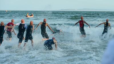 Splash - 2018 Noosa Triathlon, Noosa Heads, Sunshine Coast, Queensland, Australia; 4 November. Camera 1. Photos by Des Thureson - disci.smugmug.com