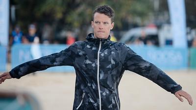 Ryan Bailie - 2018 Noosa Triathlon, Noosa Heads, Sunshine Coast, Queensland, Australia; 4 November. Camera 1. Photos by Des Thureson - disci.smugmug.com