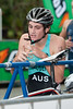 Jack Walgers - 2011 Caloundra Enduro Triathlon for professional triathletes (men's event); Woorim Park, Golden Beach, Caloundra, Sunshine Coast, Queensland, Australia; 6 February 2011. Photos by Des Thureson.