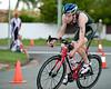 Michael Gosman - 2011 Caloundra Enduro Triathlon for professional triathletes (men's event); Woorim Park, Golden Beach, Caloundra, Sunshine Coast, Queensland, Australia; 6 February 2011. Photos by Des Thureson.