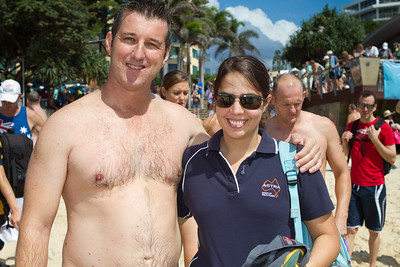 Group Portraits - Mooloolaba Ocean Swim, 26 March 2011, Sunshine Coast, Queensland, Australia. Photos by Des Thureson.