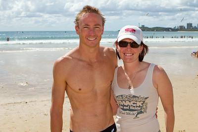 Group Portraits - Mooloolaba Ocean Swim, 26 March 2011, Sunshine Coast, Queensland, Australia. Photos by Des Thureson.