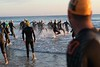 "Race Start - Swim Leg - Ironman 70.3 Sunshine Coast 2013; Mooloolaba, Queensland, Australia. Camera 2. Photos by Des Thureson - <a href=""http://disci.smugmug.com"">http://disci.smugmug.com</a>."