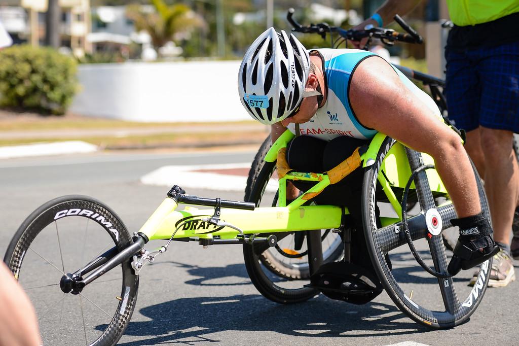 """Run Leg - Ironman 70.3 Sunshine Coast 2013; Mooloolaba, Queensland, Australia. Camera 1. Photos by Des Thureson - <a href=""""http://disci.smugmug.com"""">http://disci.smugmug.com</a>."""