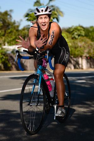 Bike Leg - Ironman 70.3 Sunshine Coast 2013; Mooloolaba, Queensland, Australia. Camera 1. Photos by Des Thureson - http://disci.smugmug.com.