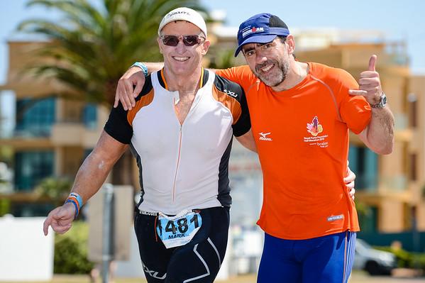 Run Leg - Ironman 70.3 Sunshine Coast 2013; Mooloolaba, Queensland, Australia. Camera 1. Photos by Des Thureson - http://disci.smugmug.com.