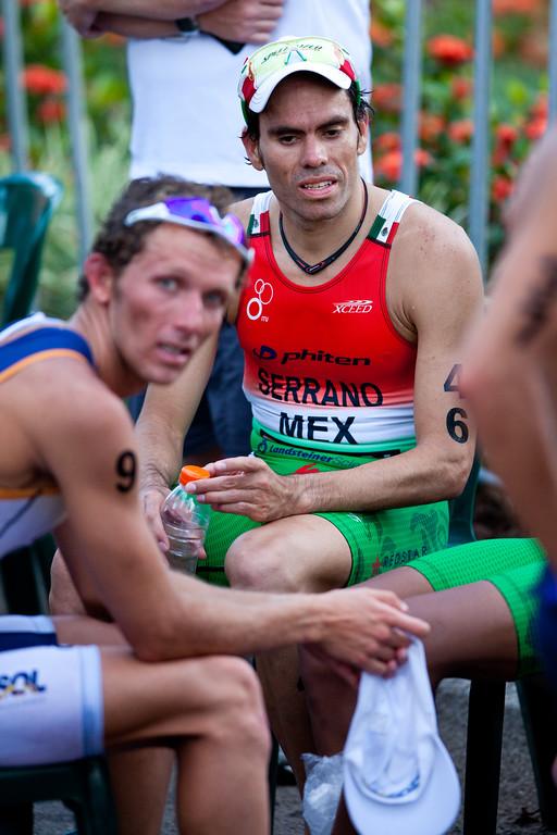 "Francisco Serrano - 2011 Mooloolaba ITU World Cup Triathlon - Men. Mooloolaba Triathlon Festival, Saturday 26 March 2011, Sunshine Coast, Queensland, Australia. Photos by Des Thureson:  <a href=""http://disci.smugmug.com"">http://disci.smugmug.com</a>"