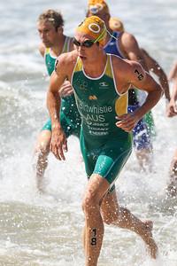 Jacob Birtwhistle - 2015 Mooloolaba ITU Triathlon World Cup Men - 2015 Mooloolaba Triathlon Multi Sport Festival, Sunshine Coast, Qld, AUS; Saturday 14 March 2015. Photos by Des Thureson - http://disci.smugmug.com. Camera 2.