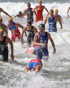 Kristian Blummenfelt - 2015 Mooloolaba ITU Triathlon World Cup Men - 2015 Mooloolaba Triathlon Multi Sport Festival, Sunshine Coast, Qld, AUS; Saturday 14 March 2015. Photos by Des Thureson - http://disci.smugmug.com. Camera 2.