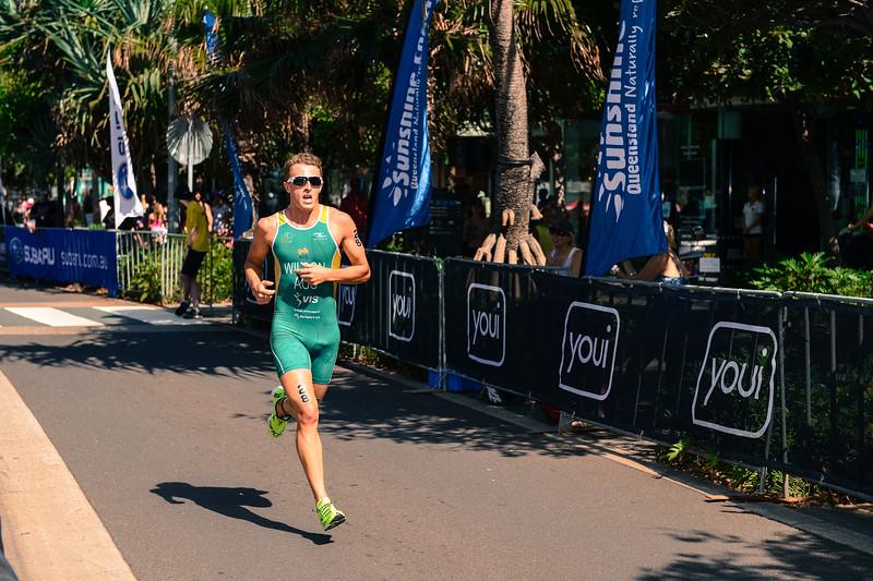 """alternate processing, old polar - Jason Wilson - 2015 Mooloolaba ITU Triathlon World Cup Men - 2015 Mooloolaba Triathlon Multi Sport Festival, Sunshine Coast, Qld, AUS; Saturday 14 March 2015. Photos by Des Thureson - <a href=""""http://disci.smugmug.com"""">http://disci.smugmug.com</a>. Camera 1."""