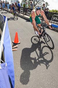 Cameron Good - 2015 Mooloolaba ITU Triathlon World Cup Men - 2015 Mooloolaba Triathlon Multi Sport Festival, Sunshine Coast, Qld, AUS; Saturday 14 March 2015. Photos by Des Thureson - http://disci.smugmug.com. Camera 1.
