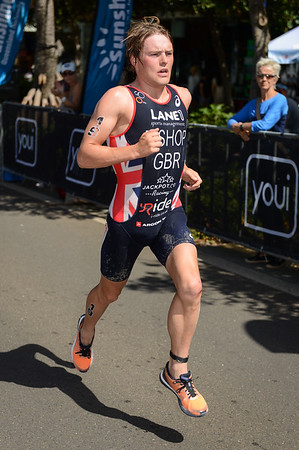 Thomas Bishop - 2015 Mooloolaba ITU Triathlon World Cup Men - 2015 Mooloolaba Triathlon Multi Sport Festival, Sunshine Coast, Qld, AUS; Saturday 14 March 2015. Photos by Des Thureson - http://disci.smugmug.com. Camera 1.