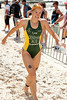 Race Winner Erin Densham - 2012 Subaru Mooloolaba Women's ITU Triathlon World Cup; Mooloolaba, Sunshine Coast, Queensland, Australia; 25 March 2012. Photos by Des Thureson - disci.smugmug.com.